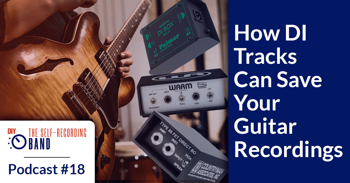 How DI Tracks Can Save Your Guitar Recordings