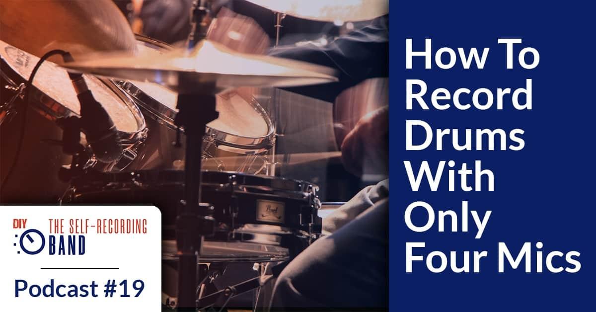 How To Record Drums With Only Four Inputs