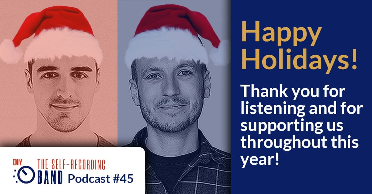 Happy Holidays! Thank You For Listening And For Supporting Us Throughout The Year!