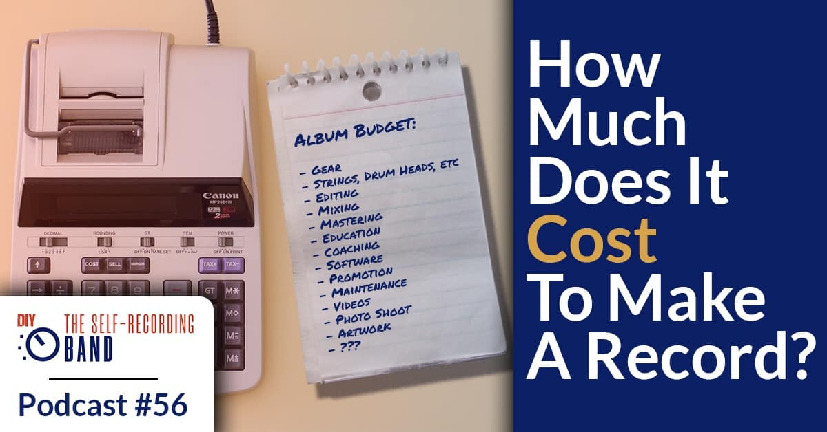 How Much Does It Cost To Make A Record?