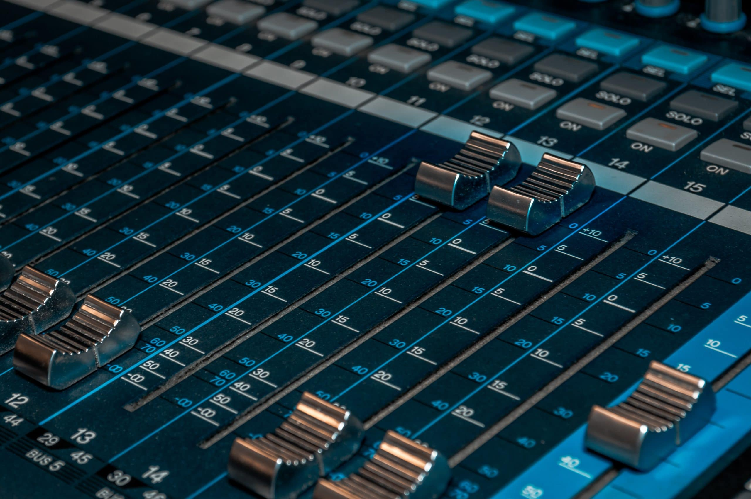 Faders As EQ