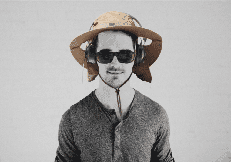 """This has nothing to do with drum sound - Brace Yourself, Here's Malcom And His """"Location Sound Sun Hat"""""""