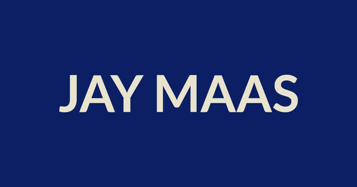 Jay Maas On Buying Gear To Fix Problems